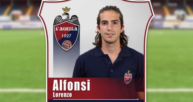 L'Aquila, rinforzo in attacco: firma l'esterno Lorenzo Alfonsi