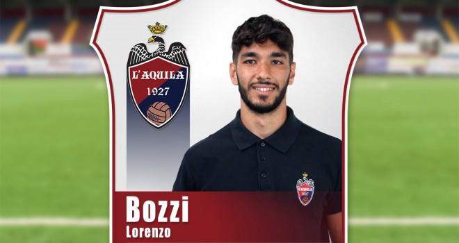 Bozzi firma con L'Aquila