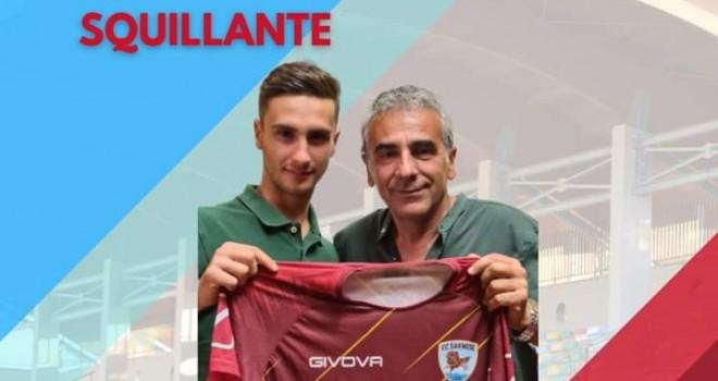 Sarnese: arriva il centrocampista Squillante