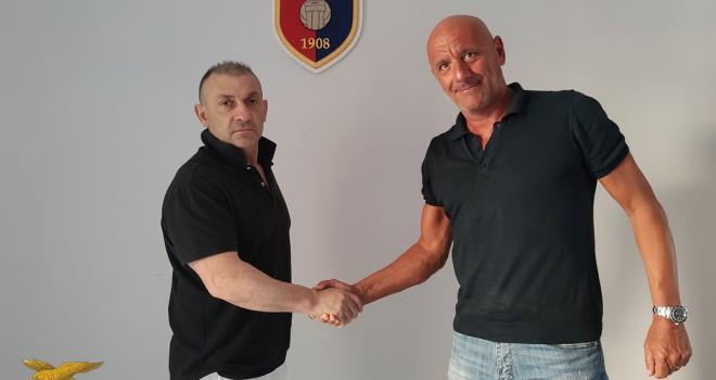 Mister Maiuri con il Pres. D'Agostino