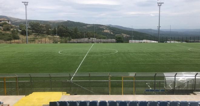 Lo stadio Antonio Coviello di Viggiano