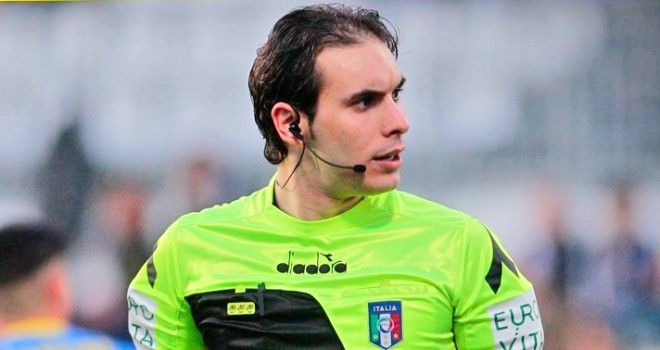 L'arbitro Alberto Santoro
