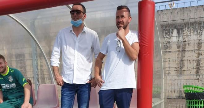 Mr. D'Alessandro con il D.s. Iarrobino
