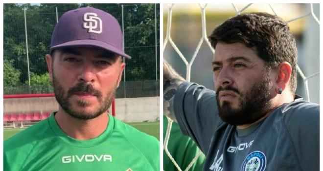 Angelo Valerio e Diego A. Maradona Jr.