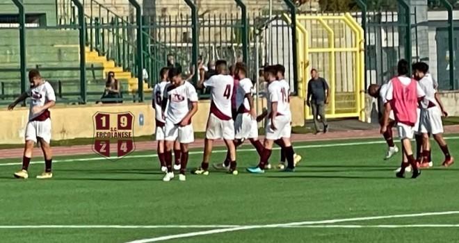 S.C. Ercolanese-Sant'Anastasia: Mosca e Borrelli firmano il 2-0