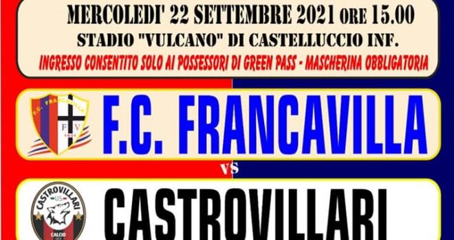 Francavilla-Castrovillari, solo oggi sono disponibili i biglietti