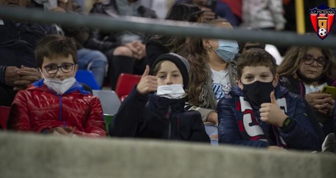 """Picerno, è iniziata ieri l'iniziativa """"Studenti allo stadio"""" al Curcio"""