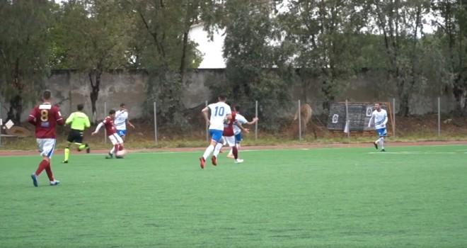 La perla di Gerardi per l'1-0 del Matera