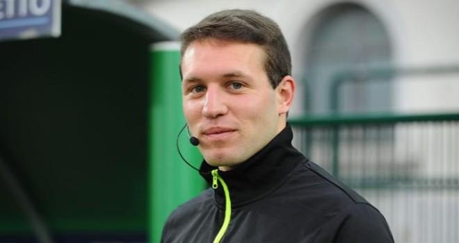 L'arbitro Matteo Marcenaro
