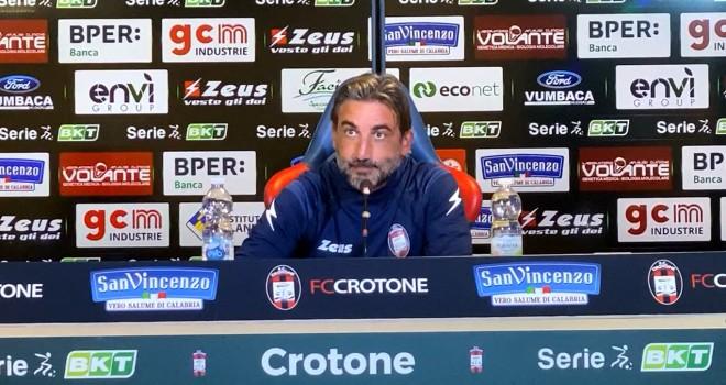 """Crotone. Modesto: """"Col Benevento voglio vedere una squadra tosta"""""""