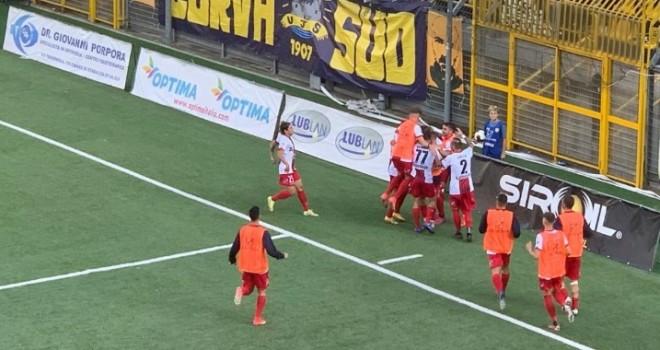 Serie C girone C, colpo Picerno a Castellammare Cade il Potenza