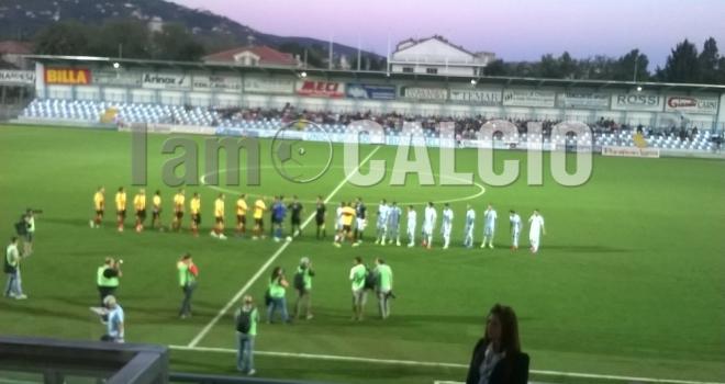 Coppa Italia, rigori fatali al Benevento: Pelizzoli spinge l'Entella