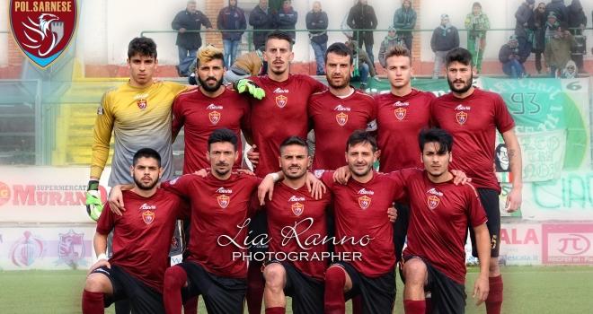 L'Arzanese ferma la Sarnese: a Frattamaggiore finisce 1-1