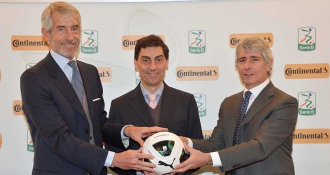 Continental sponsor della Lega Serie B