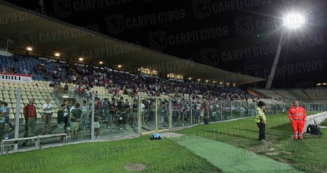 """Black-out del """"Braglia"""": Carpi-Padova riprende l'11 marzo"""