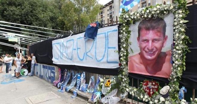 """De Laurentiis, funerali Ciro: """"Basta violenza, è l'ora di una svolta"""""""