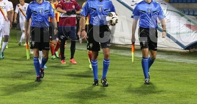 Un arbitro siciliano per Benevento-Martina Franca