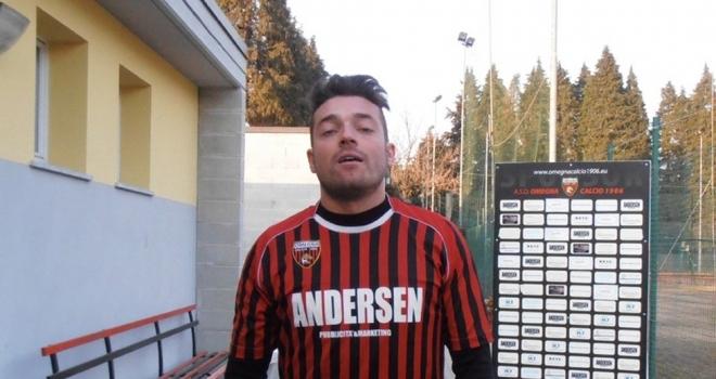 Francesco Brunetti, 11 gol con l'Omegna