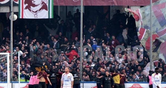 Possibile scambio tra Salernitana e Juve Stabia?