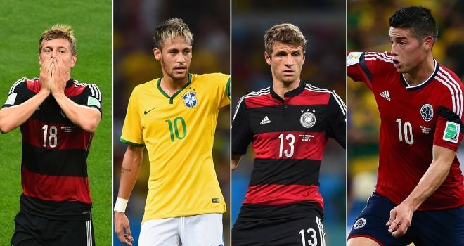 Brasile 2014: Il Top 11 e i protagonisti