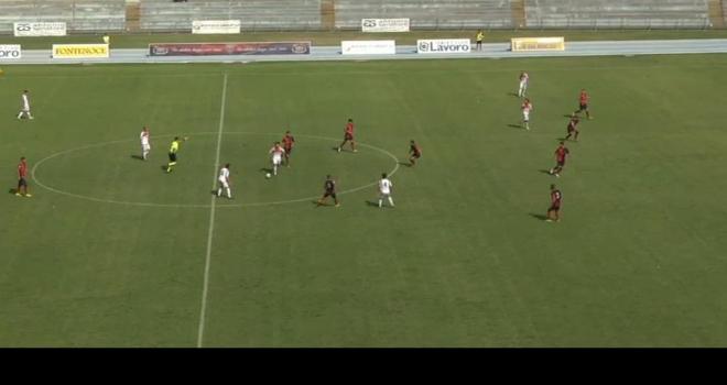 Furto con scasso per il Foggia a Cosenza (2-2)