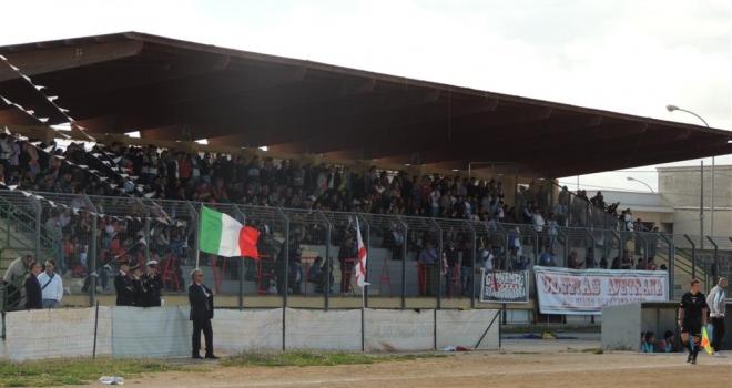Lo stadio di Avetrana