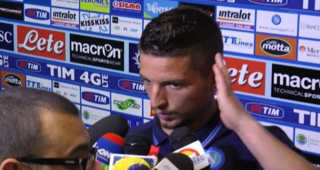"""Mertens: """"Felice per il 50° gol in azzurro, Pescara ottima squadra..."""""""