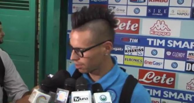 """Hamsik: """"Lazio? Battuto un'ottima squadra, sono convinto che..."""""""