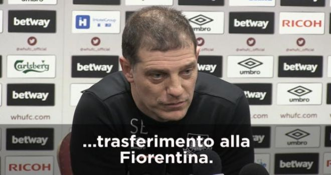 Fiorentina - Zarate, la conferma di Bilic