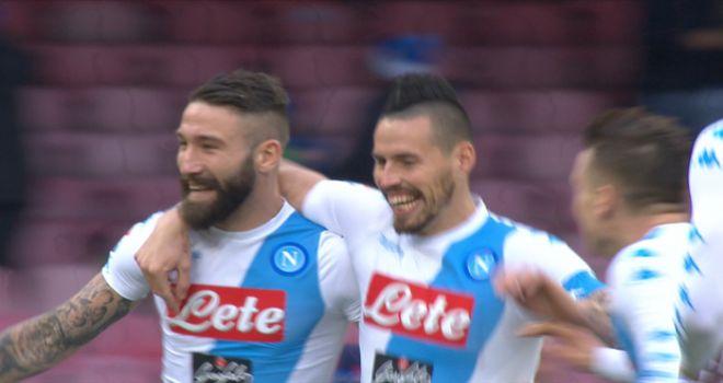 Napoli-Pescara 3-1, highlights e gol della sfida del San Paolo