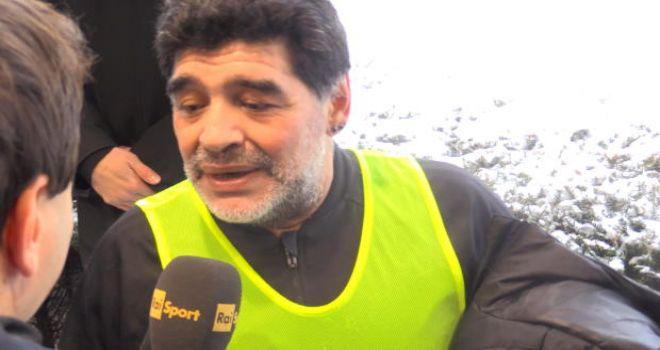 """Maradona risponde a Insigne: """"Normale avere Ronaldo come idolo, ma..."""""""