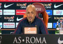 """Spalletti: """" Domani  si deve vincere. Totti in campo per un bel pezzo"""""""