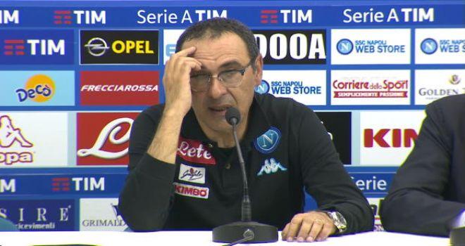 Le parole di Maurizio Sarri